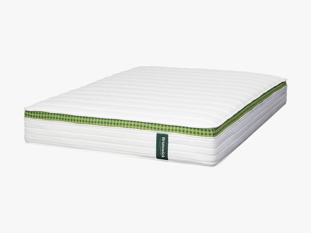 Brunswick classic spring mattress as seen from the front right corner